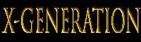 x-generation logo